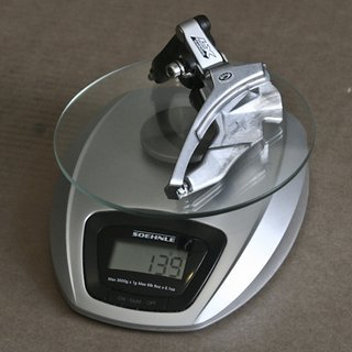 Gewicht Shimano Umwerfer LX FD-M571 34,9mm