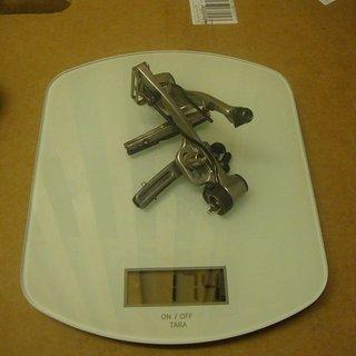 Gewicht Shimano Felgenbremse LX BR-M580