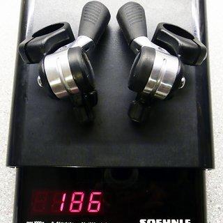Gewicht Shimano Schalthebel XT SL-M732 3x7-fach