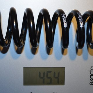 Gewicht X-Fusion Feder Stahlfeder 450/69