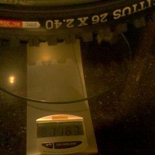 """Gewicht Onza Reifen Citius DHC RC² 55a 26x2.4"""" / 61-559"""