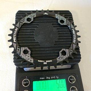 Gewicht Motsuv Kettenblatt Chain Ring 34T, 104BCD