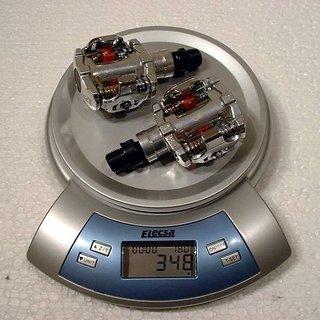Gewicht VP Components Pedale (Klick) VP-M31 78x59mm