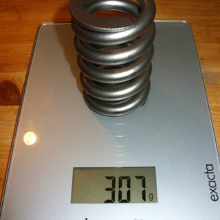 Gewicht Grade5 Feder Titanfeder 700/1,5