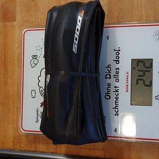 Gewicht Continental Reifen Grand Prix 5000 700-28C, 28-622