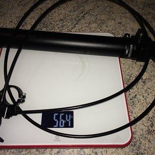 Gewicht Vecnum Sattelstütze höhenverstellbar Moveloc 200 30,9mm