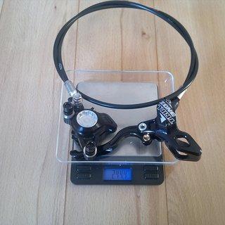 Gewicht Hope Scheibenbremse Trial Zone VR, 910mm