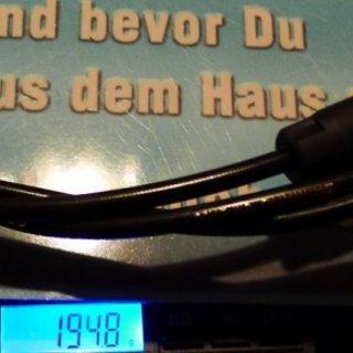 Gewicht Shimano Scheibenbremse XTR BR-M987 HR 1700mm