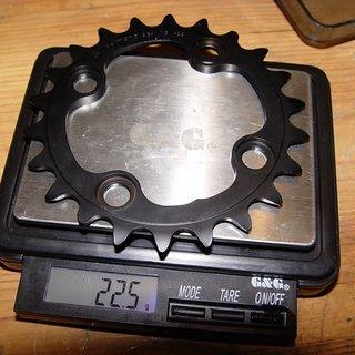 Gewicht Shimano Kettenblatt XTR FC-M960 64mm, 22Z