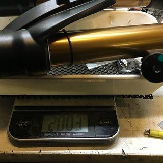 """Gewicht Fox Racing Shox Federgabel 2016 36 K, Float 26"""" 180mm, hsc/lsc, tapered, 20mm achse mit kralle 180mm 26"""""""