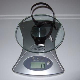Gewicht BTP - Bike Tuning Parts Flaschenhalter Carbon (seitlich)