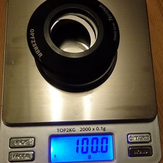 Gewicht Tange Steuersatz KP205 IS50,8-28.6  IS50,8-40
