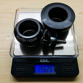"""Gewicht On-One Steuersatz Smoothie regular 1 1/8"""""""