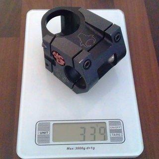 Gewicht NC-17 Vorbau Toro 1.5 S-Pro 31.8mm, 50mm, 4°