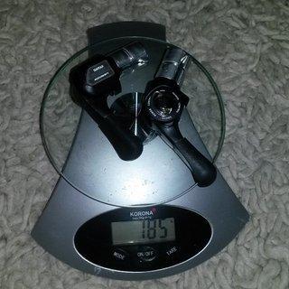 Gewicht Suntour Schalthebel BarCons 3x7