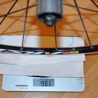 Gewicht Mavic Systemlaufräder Aksium S - HR ETRTO-Grösse: 622 x 15c