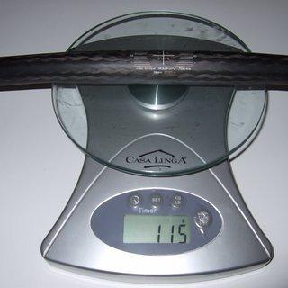 Gewicht FRM Lenker Web Carbon 25,4 x 565mm