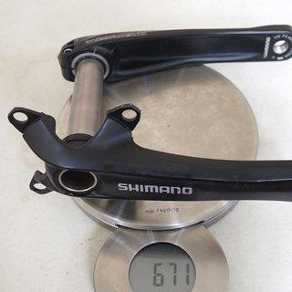 Gewicht Shimano Kurbel FC-M543 170mm, 68/73mm, HT2