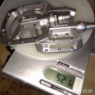 Gewicht Shimano Pedale (Platform) PD-GR500