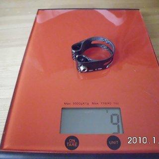 Gewicht Carbocage Sattelklemme Sattelklemme 34.9mm