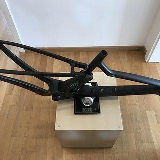Gewicht Scott Full-Suspension Spark RC 700 Ultimate Frameset M