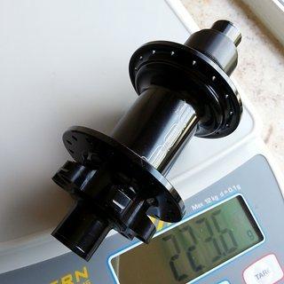 Gewicht BOR Nabe MD7 Rear 142/12mm, 32-Loch