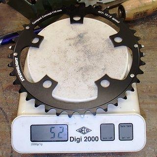 """Gewicht Stronglight Kettenblatt Road Type 5083 """"S"""" 110mm, 40Z"""