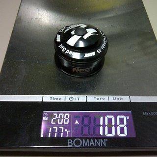 """Gewicht Aest Steuersatz YHS44AI-09 1 1/8"""""""