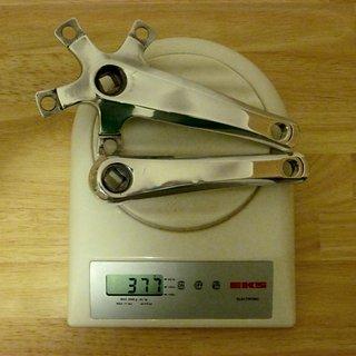 Gewicht Sugino Kurbel Impel (tuned) 130mm, 68/73mm, 4-kant