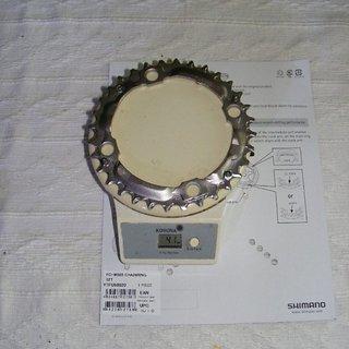 Gewicht Shimano Kettenblatt LX FC-M580 104mm, 32Z