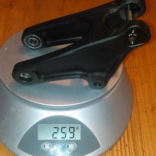 Gewicht Alutech Alles andere Wippe - Fanes 3.0 (Schwarz eloxiert)