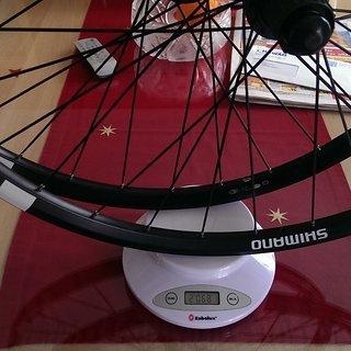 """Gewicht Shimano Systemlaufräder MT15 26"""""""