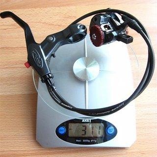 Gewicht Avid Scheibenbremse BB7 VR, 700mm
