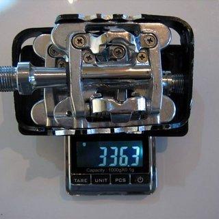 Gewicht Wellgo Pedale (Sonstige) M17