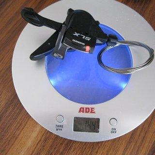Gewicht Shimano Schalthebel SLX SL-M660 9-fach