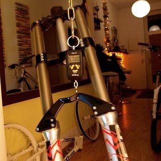 """Gewicht Marzocchi Federgabel Monster T 26"""", 200mm, 1-1/8"""""""