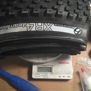 """Gewicht Bontrager Reifen XR4 Team Issue TLR 26x2.35"""""""