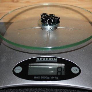 Gewicht Carbocage Kettenblattschrauben Kettenblattschrauben M8x5mm, 5x
