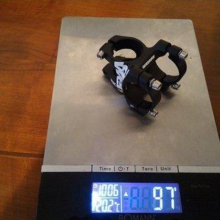 Gewicht Answer Vorbau AME 30mm x 31,8