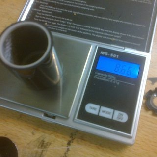 Gewicht Carbonice Spacer Steiler Müller 1⅛'', 40mm