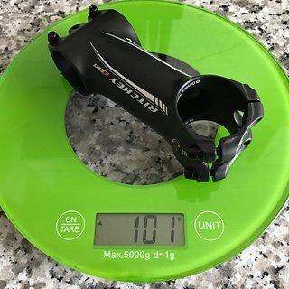 Gewicht Ritchey Vorbau WCS C260 31.8mm, 80mm, 6°