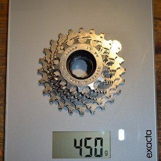 Gewicht Sachs Kassette LY 96 Schraubkranz 8 fach 13-24