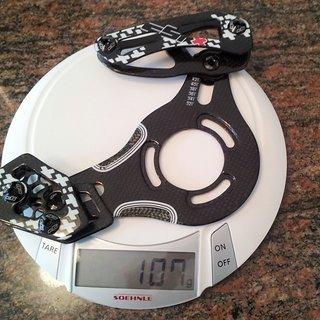 Gewicht cSixx Kettenführung 110gl 32-42Z, ISCG-03