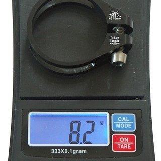 Gewicht Tuning Pedals Sattelklemme TK Sattelklemme 31,8mm