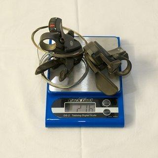 Gewicht Shimano Schalthebel XTR SL-M952 3x9-fach