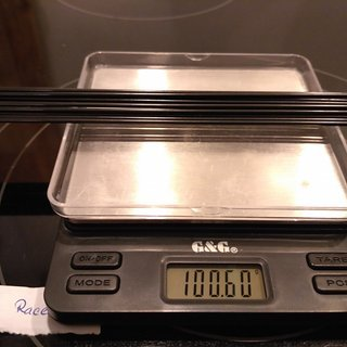 Gewicht Sapim Speiche Race 288mm, 16 Stück
