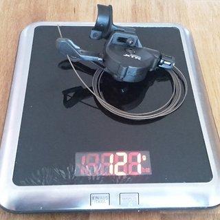 Gewicht Shimano Schalthebel XTR SL-M9000-I 11-fach