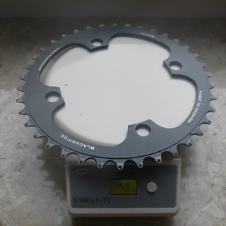 Gewicht Blackspire Kettenblatt Downhill 104mm, 38Z