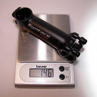 Gewicht Syntace Vorbau Force 139 25.4mm, 105mm, 6°
