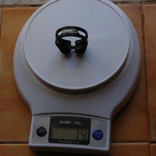 Gewicht Controltech Sattelklemme Settle 34,9